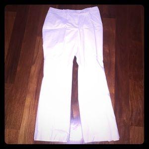 LOFT size: 8 WHITE TROUSERS PANTS